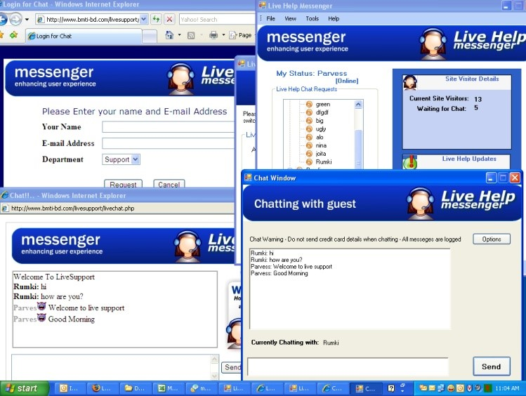 Live Chatting Software